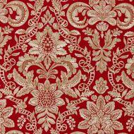 Scalamandre: Elizabeth Damask Embroidery SC 0003 27086 Carneliam