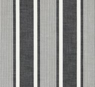 Scalamandre: Wellfleet Stripe SC 0005 27111 Carbon