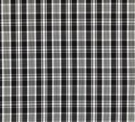 Scalamandre: Preston Cotton Plaid 27122-006 Noir