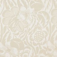 Scalamandre: Deco Flower 27131-001 Linen