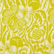 Scalamandre: Deco Flower  27131-004 Chartreuse