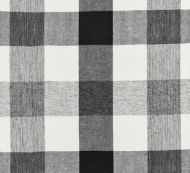Scalamandre: Westport Linen Plaid 27135-009 Noir