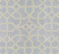 Scalamandre: Linen Lattice 27149-004 Bluestone, Fog