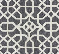 Scalamandre: Linen Lattice 27149-005 Indigo, Greige