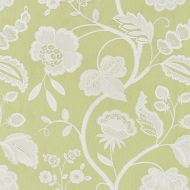 Scalamandre: Kensington Embroidery SC 0002 27151 Celery