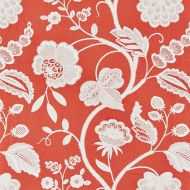 Scalamandre: Kensington Embroidery SC 0004 27151 Coral