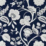 Scalamandre: Kensington Embroidery SC 0005 27151 Navy