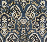 Scalamandre: Oushack Linen Velvet 27171-002 Indigo