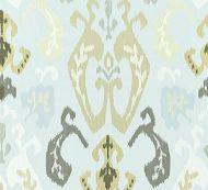 Scalamandre: Mandalay Ikat Embroidery 27172-003 Mineral