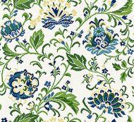 Scalamandre: Delphine Embroidery 27173-002 Jardin
