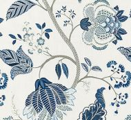 Scalamandre: Palampore Embroidery  SC 0002 27175 Porcelain