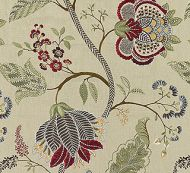 Scalamandre: Palampore Embroidery SC 0004 27175 Cinnamon