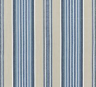 Scalamandre: Cyrus Cotton Stripe 27180-002 Chambray