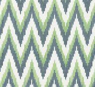 Scalamandre: Adras Ikat Weave 27185-003 Peacock