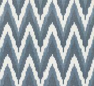 Scalamandre: Adras Ikat Weave 27185-004 Lapis