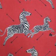 Scalamandre: Zebras Indoor/Outdoor SC 000136378 (36378-001) Masai Red
