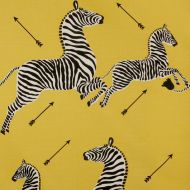Scalamandre: Zebras Indoor/Outdoor SC 000236378 (36378-002) Yellow