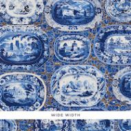 Schumacher: Plates & Platters WP 5010410 Blue