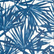Schumacher: Sunlit Palm WP 5010562 Blue