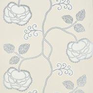 Schumacher: Queen Fruit WP 5011410 Silver White