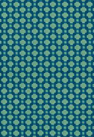 Celerie Kemble for Schumacher: Betwixt 62613 Peacock/ Seaglass