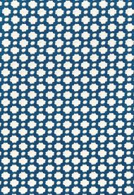 Celerie Kemble for Schumacher: Betwixt 65681 Indigo / Ivory