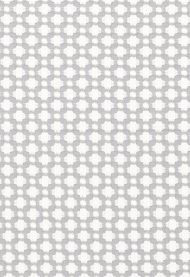 Celerie Kemble for Schumacher: Betwixt 65684 Zinc/ Blanc
