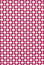 Celerie Kemble for Schumacher: Betwixt 65685 Magenta / Natural