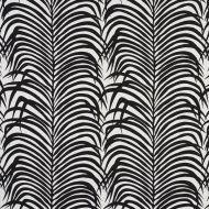 Schumacher: Zebra Palm Indoor/Outdoor 73173 Black
