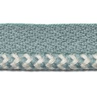 Duralee: Pavilion D2981 Indoor/Outdoor Trim 7318-19 Aqua