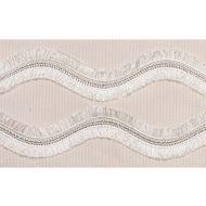 Schumacher: Ogee Embroidered Tape 74331 Blush