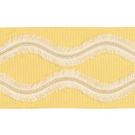 Schumacher: Ogee Embroidered Tape 74333 Yellow