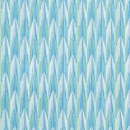 Schumacher: Verdant Indoor/Outdoor 75910 Aqua & Leaf