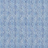 Schumacher: Diamond Strie Indoor/Outdoor 75921 Blue
