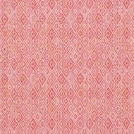 Schumacher: Diamond Strie Indoor/Outdoor 75922 Pink & Orange