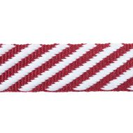 Schumacher: Twill Tape 76104 Burgundy