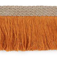 Schumacher: Braided Linen Fringe 76262 Orange