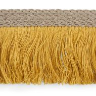 Schumacher: Braided Linen Fringe 76263 Gold
