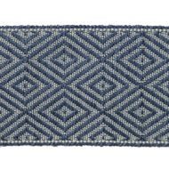 "Highland Court: Sherman Oaks Trimmings 2 3/4"" Tape Jacquard Lapis 78093H-563"