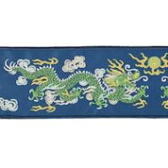 Schumacher: Lili Dragon Tape 78171 Blue