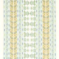 Schumacher: Vinka Embroidery 79620 Mineral & Ivory