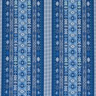 Schumacher: Cosima Embroidery 79680 Blue Multi