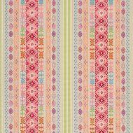 Schumacher: Cosima Embroidery 79682 Pink Multi