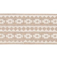 Schumacher: Talitha Tape 79920 Ivory on Natural
