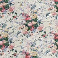 Lee Jofa: Floral Bouquet 889300.LJ.0 White
