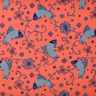 Lee Jofa: Oriental Fishes 949104.LJ.0 Indigo