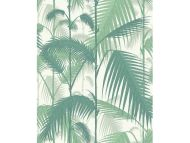 Cole & Son WP: Contemporary Restyled Palm Jungle 95/1002.CS.0 Forest Green & White