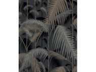 Cole & Son WP: Contemporary Restyled Palm Jungle 95/1004.CS.0 Silver & Black