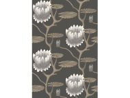 Cole & Son WP: Contemporary Restyled Summer Lily 95/4026.CS.0 Black/White/Gold