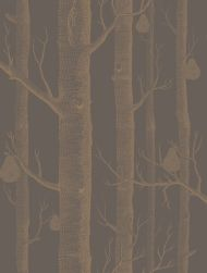 Cole & Son WP: Contemporary Restyled Woods & Pears 95/5028.CS.0 Black/Bronze